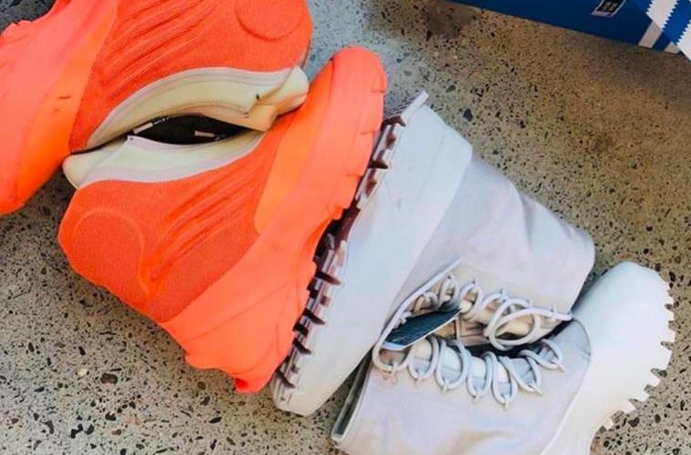 adidas Yeezy 1020 и 1050 V3 - первый взгляд
