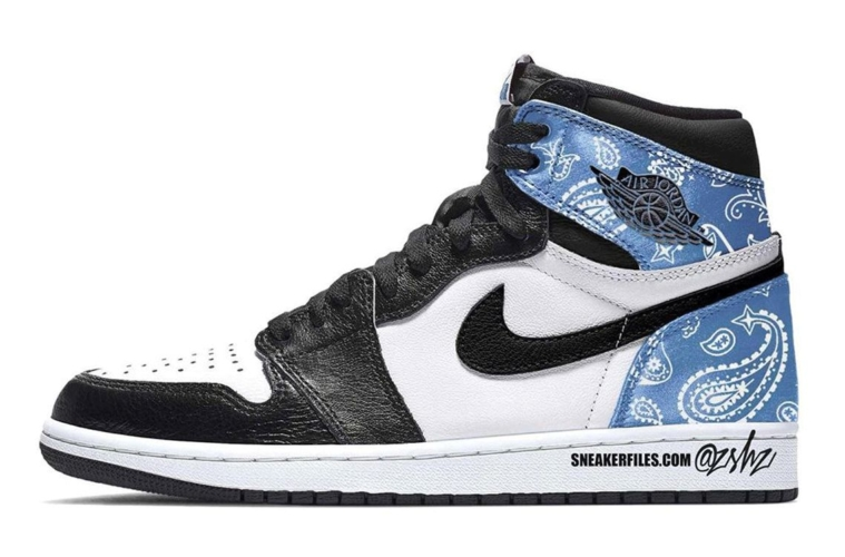 Air Jordan 1 High OG «Paisley» - первый взгляд