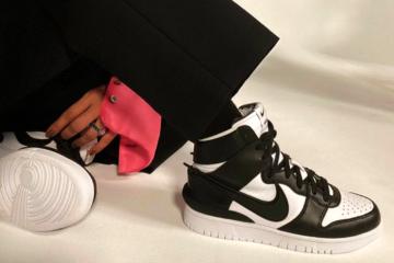 Ambush x Nike Dunk High - подробности релиза черно-белой расцветки