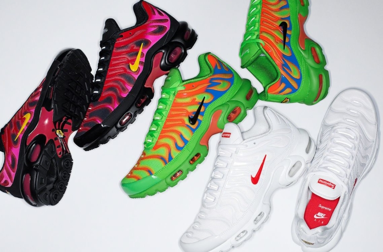 Supreme x Nike Air Max Plus TN Fall/Winter 2020 - детали релиза