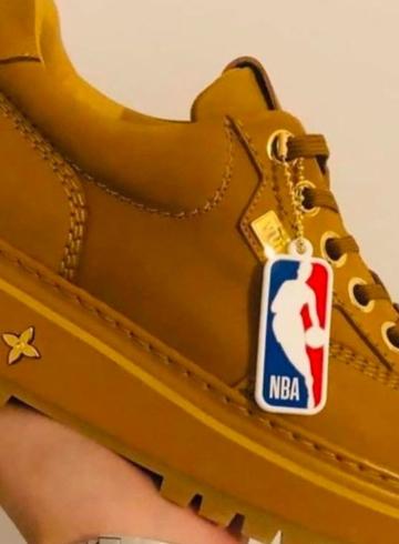 Ботинки Louis Vuitton x NBA - первый взгляд
