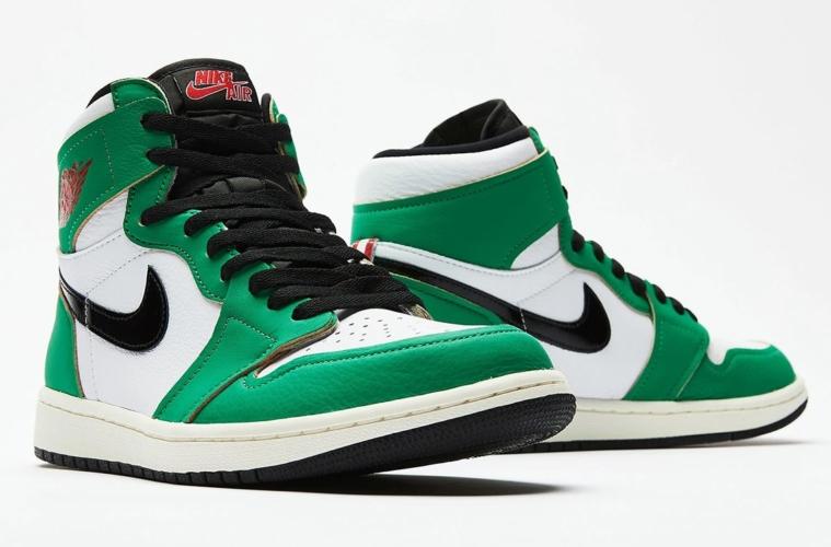 Air Jordan 1 Retro High OG «Lucky Green»