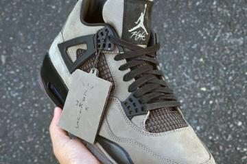 Travis Scott x Air Jordan 4 «Olive» - новый сэмпл невыпущенных кроссовок