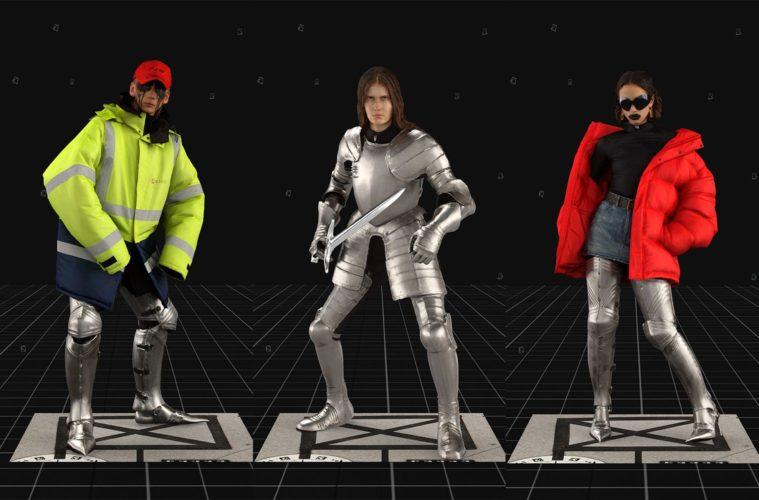 Balenciaga Fall 2021 Ready-to-Wear - обзор коллекции