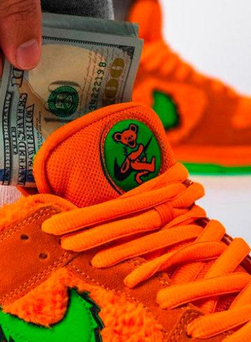 Самые дорогие кроссовки 2020 года