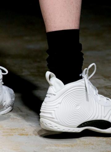 Comme des Garçons Homme Plus x Nike Air Foamposite One - первый взгляд