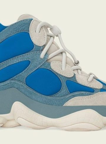 adidas Yeezy 500 High «Frosted Blue» - детали релиза