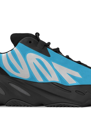 adidas Yeezy Boost 700 MNVN «Bright Cyan» - первый взгляд