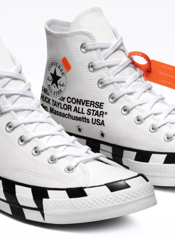 Off-White x Converse Chuck 70 - повторный релиз силуэта