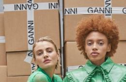 История бренда Ganni