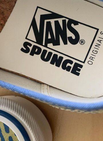 Spunge x Vans Vault Authentic - детали коллаборации