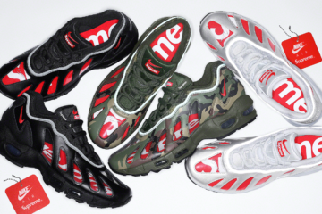 Supreme x Nike Air Max 96 - подробности релиза коллаборации