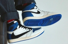 Travis Scott x fragment design x Air Jordan 1 High - детали релиза