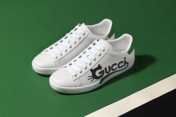 Gucci New Ace из материала Demetra