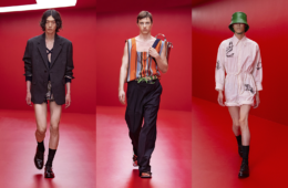 Prada Sprin0g/Summer 2022 Menswear - обзор коллекции