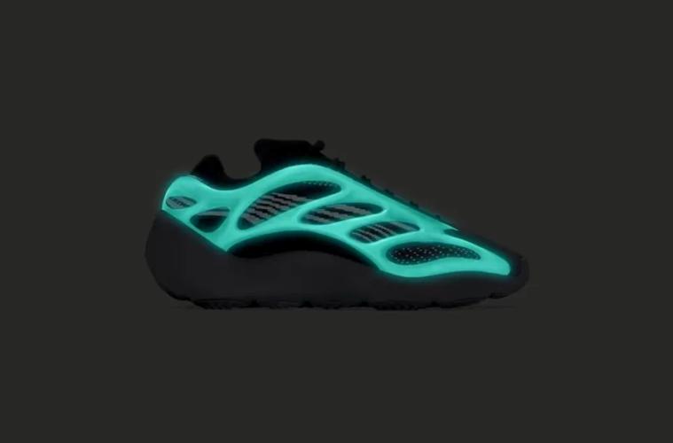 adidas Yeezy 700 v3 Blue Glow - первый взгляд