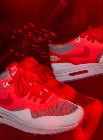 Clot x Nike Air Max 1 «Solar Red» - детали релиза
