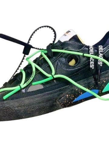 Off-White x Nike Blazer Low - первый взгляд