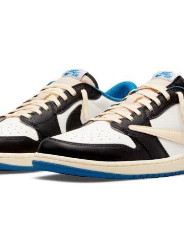 Travis Scott x fragment design x Air Jordan 1 Low - где купить