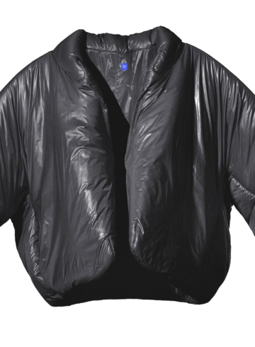Yeezy Gap Black Round Jacket - подробности релиза черной куртки