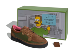The Simpsons x adidas McCarten «Left-Handers Rule» - подробности релиза