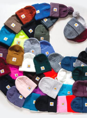 Carhartt - история и современная популярность шапки-бини