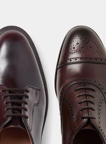 Оксфорды, дерби и броги — основные отличия ботинок