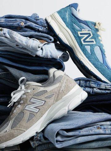 Levi's x New Balance 990v3 «Indigo» и «Grey» - где купить