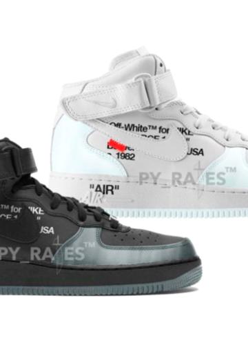Off-White x Nike Air Force 1 Mid - первый взгляд на релиз 2022 года