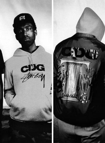 Stussy x CDG - дата релиза