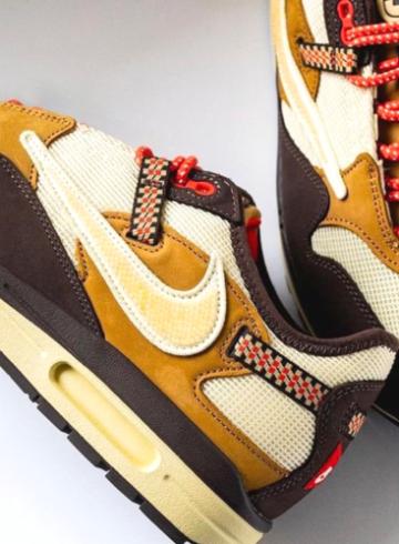 Travis Scott x Nike Air Max 1 «Baroque Brown» - подробности релиза