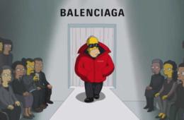 Balenciaga представил серию «Симпсонов» на показе новой коллекции 01 mcmag.ru