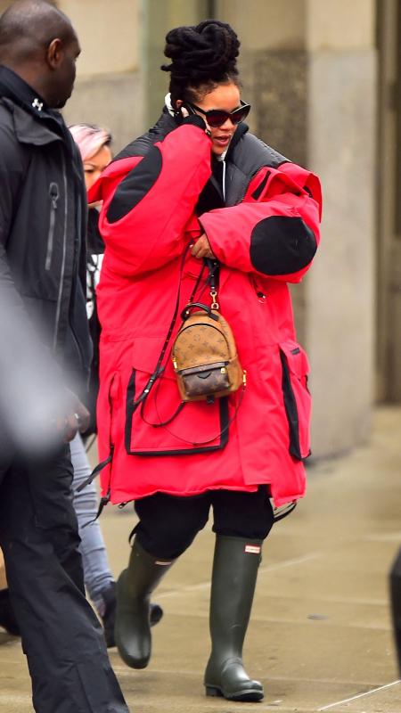 Rihanna Oversize Balenciaga Jacket