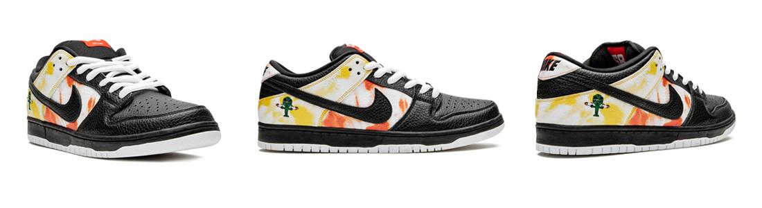 Купить Nike SB Dunk Low Tie-Dye Raygun