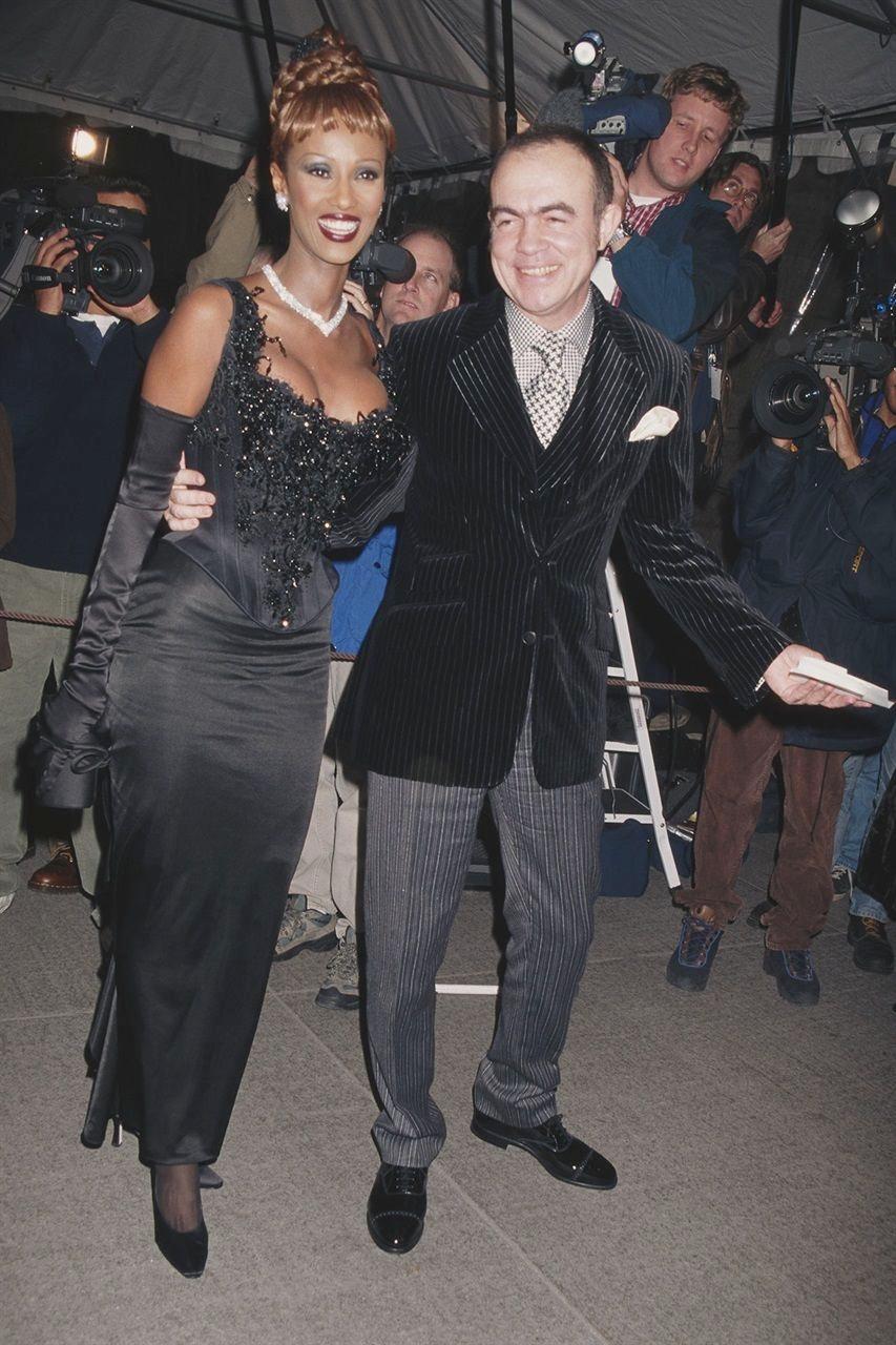 1996: «Christian Dior» Иман и Лакруа