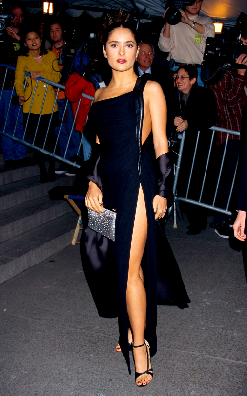 Met Gala 1997: «Gianni Versace» Сальма Хайек
