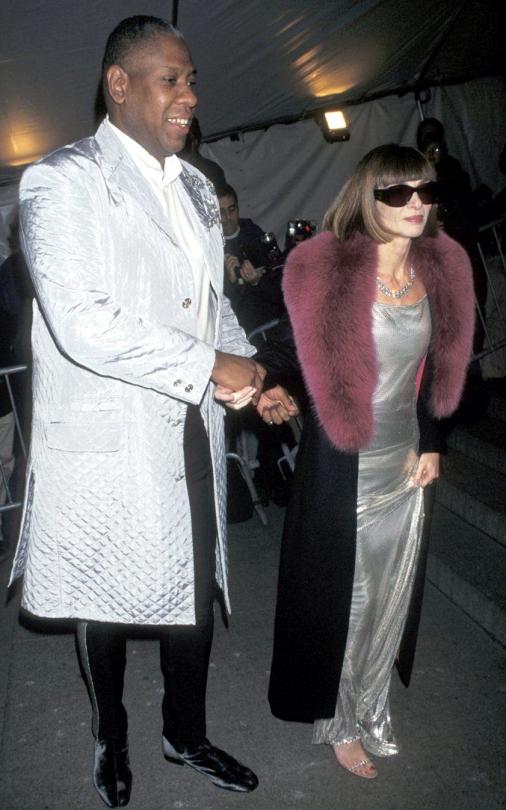 Met Gala 1997: «Gianni Versace» Анна Винтур