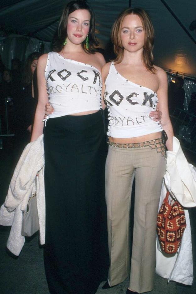 Met Gala 1999: «Rock Style» («Рок-стиль») Стелла Маккартни и Лив Тайлер