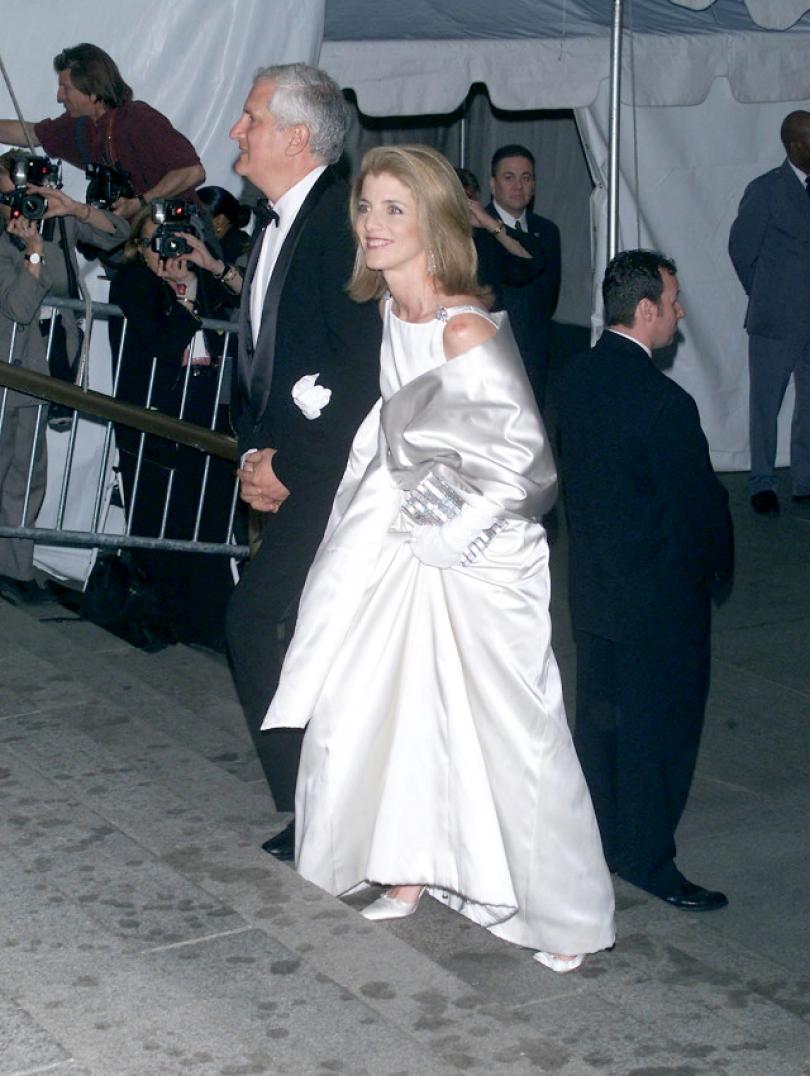 Met Gala 2001: «Jacqueline Kennedy: The White House Years» Каролина Кеннеди