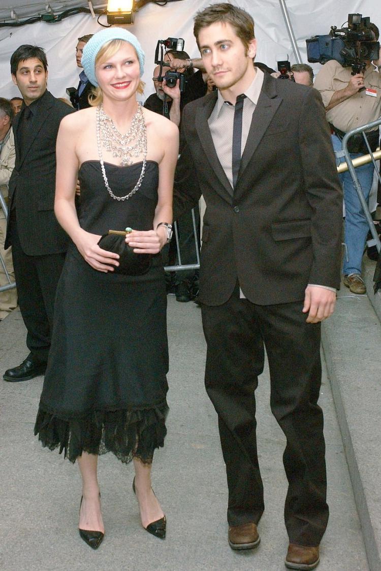Met Gala 2003: «Goddess: The Classical Mode» Кирстен Данст и Джейк Джилленхол
