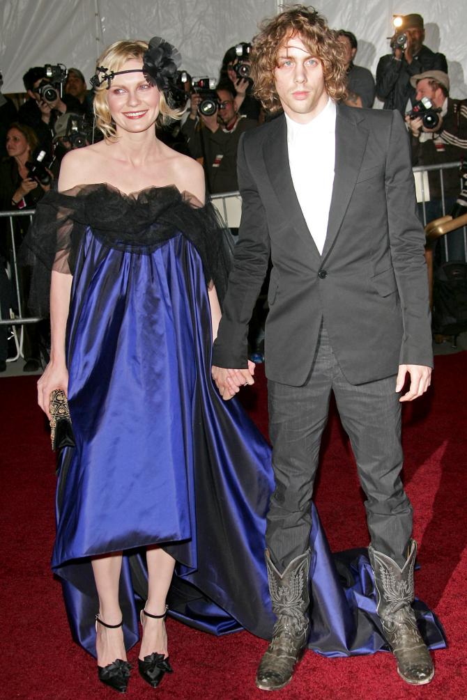 Met Gala 2007: «Poiret: King of Fashion» Кирстен Данст