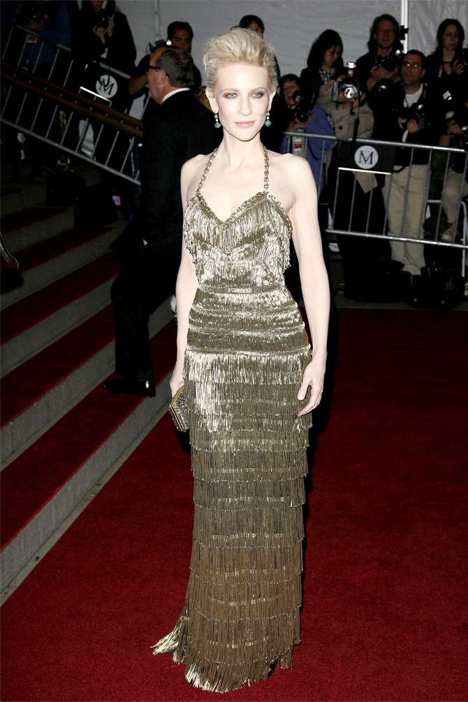 Met Gala 2007: «Poiret: King of Fashion» Кейт Бланшетт