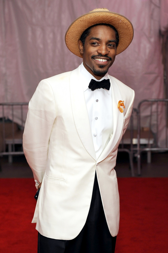 Met Gala 2008: «Superheroes: Fashion and Fantasy» André 3000