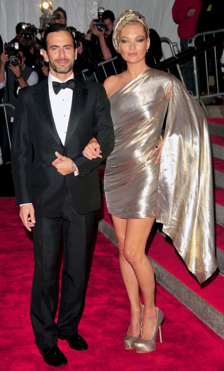 Met Gala 2009: «The Model as Muse: Embodying Fashion» Марк Джейкобс и Кейт Мосс