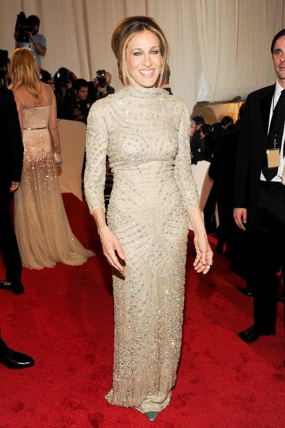 Met Gala 2011: «Alexander McQueen: Savage Beauty» Сара Джессика Паркер