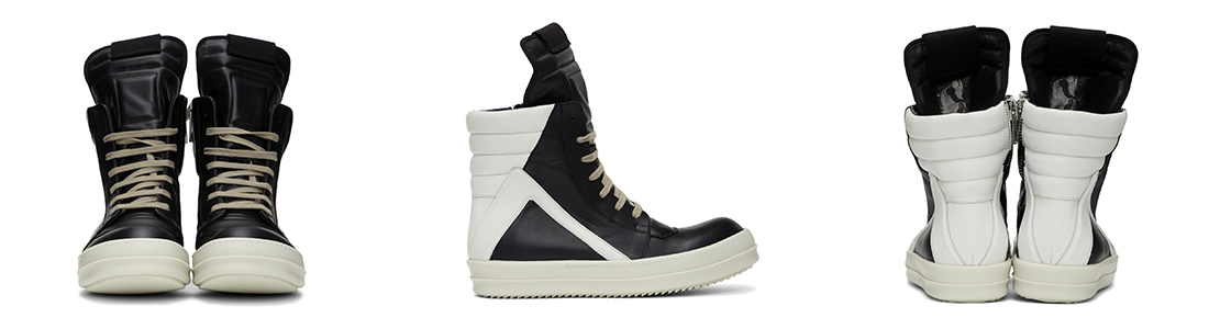 Rick Owens Geobasket Sneakers mcmag.ru