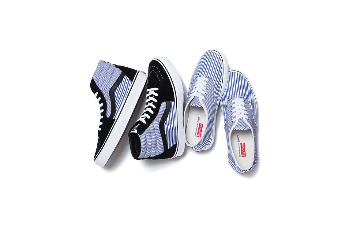 Supreme x Comme des Garcons Shirt x Vans Spring Summer 2012 Sneakers