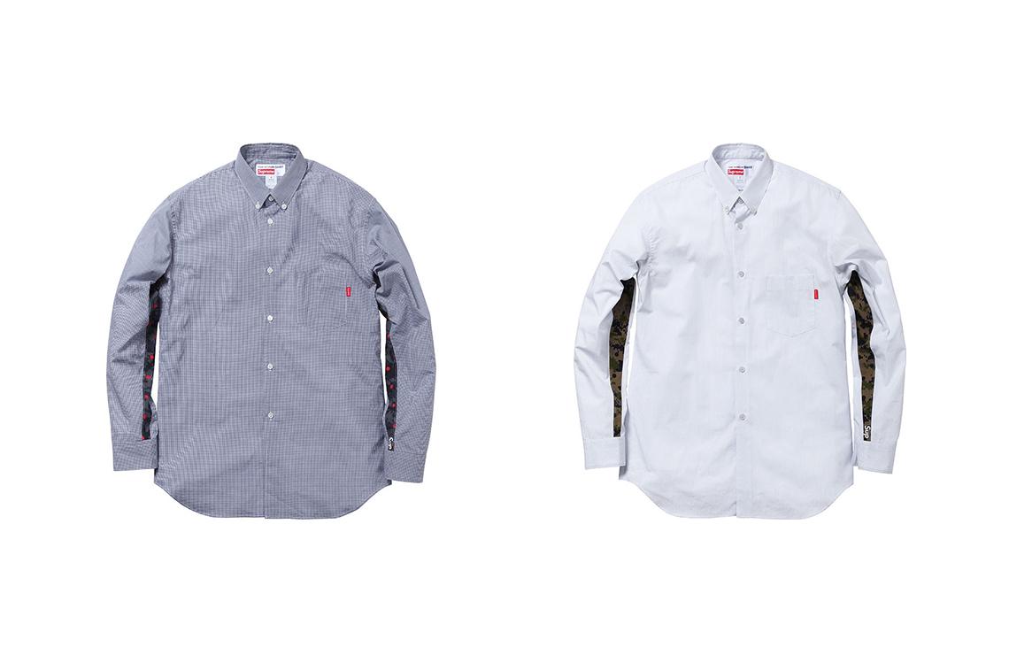 Supreme x Comme Des Garcons Spring Summer 2013 long Sleeve Shirt