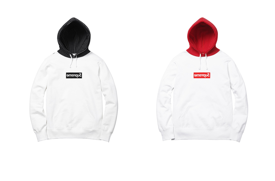 Supreme x Comme Des Garcons Spring Summer 2014 box logo hoodie