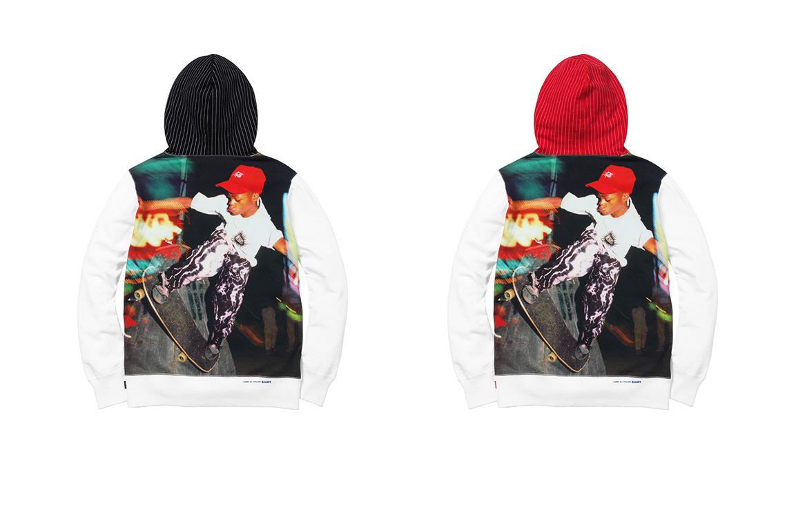 Supreme x Comme Des Garcons Spring Summer 2014 Harold Hunter box logo hoodie